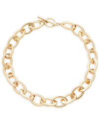 Kenneth Jay Lane - Oval Link Necklace - Lyst