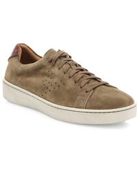 Vince - Simon Suede Sneakers - Lyst