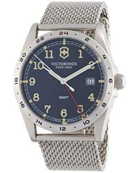 Victorinox - Infantry Stainless Steel Watch - Lyst
