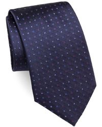 Brioni - Multi Mini Dots Silk Tie - Lyst