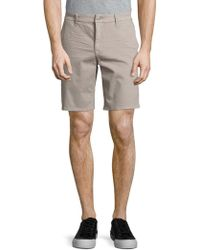 Joe's - Stretch-cotton Flat Front Shorts - Lyst