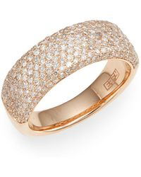 Effy - Diamond & 14k Rose Gold Ring - Lyst