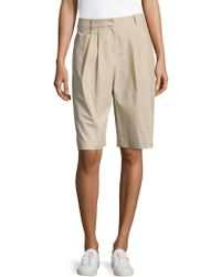 Lafayette 148 New York - Clarkson Pleat-front Shorts - Lyst