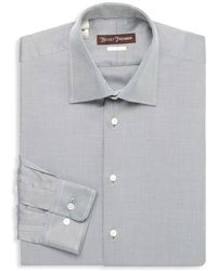 Hickey Freeman - Classic Fit Twill Dress Shirt - Lyst
