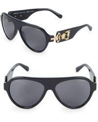 Versace - 58mm Round Sunglasses - Lyst