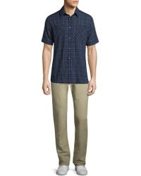 Billy Reid - Clarence S/s Shirt - Lyst