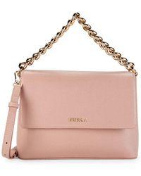 aa6cce71b7c4 Furla - Gaya Leather Crossbody Bag - Lyst