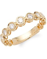 Effy - Diamond And 18k Yellow Gold Ring - Lyst