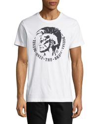 DIESEL - Only The Brave Graphic Tee - Lyst