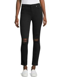 7 For All Mankind - Riche Touch Ankle Skinny Jeans - Lyst
