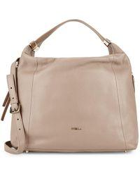 7ddd73d765 Furla - Liz Classic Leather Hobo Bag - Lyst