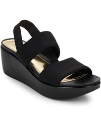 Kenneth Cole Reaction - Pepe Pot Neoprene Wedge Sandals - Lyst