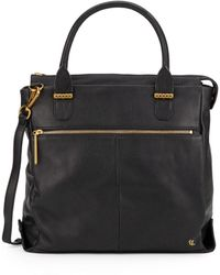 Elliott Lucca - Met Convertible Leather Tote - Lyst