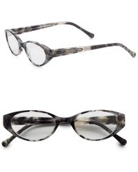 Judith Leiber Couture - 50mm Cat-eye Readers - Lyst