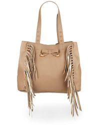 Betsey Johnson - Fringe Shoulder Bag - Lyst