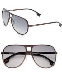 BOSS Orange - 60mm Aviator Sunglasses - Lyst