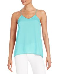 The Vanity Room - Strappy Racerback Top - Lyst
