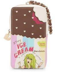 Betsey Johnson - Ice Cream Sandwich Wristlet - Lyst