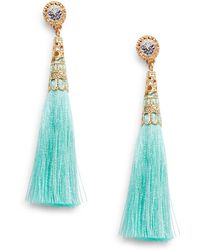 Cara - Tassel Drop Earrings - Lyst