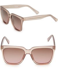 Joe's - 53mm Square Sunglasses - Lyst