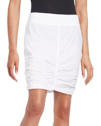 XCVI - Shirred Pencil Skirt - Lyst