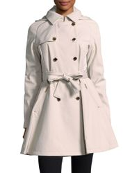 Ivanka Trump - Double-breasted Hooded Coat - Lyst