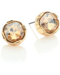 ABS By Allen Schwartz - Pastels Faceted Stud Earrings - Lyst