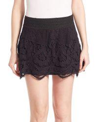 Generation Love - Sonali Lace Mini Skirt - Lyst