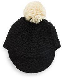 Cara - Knit Pom-pom Beanie - Lyst
