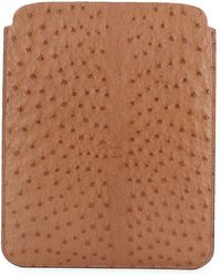 Brunello Cucinelli - Patterned Leather Tablet Case - Lyst