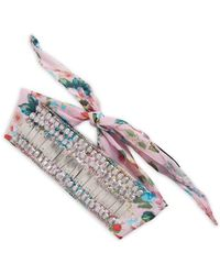 Steve Madden - Dolce Flora Head Band - Lyst