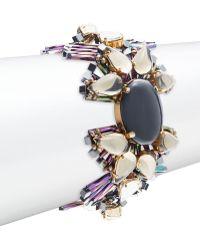 Tataborello - Studded Fan Bracelet - Lyst