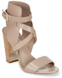 Rachel Zoe | Dalella Leather Ankle wrapped High heel Sandals | Lyst