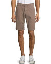 Original Paperbacks - Palm Textured Cotton Shorts - Lyst