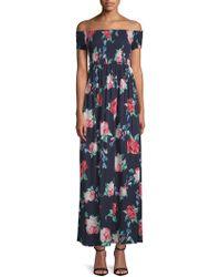 Cirana - Off-the-shoulder Maxi Dress - Lyst