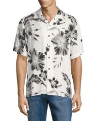 Standard Issue - Printed Camp Button-down Shirt - Lyst
