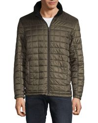 Tumi - Quilted Long-sleeve Jacket - Lyst
