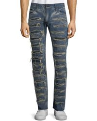Robin's Jean - Dyed Cotton Jeans - Lyst