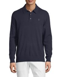 Polo Ralph Lauren - Collared Cashmere Sweater - Lyst