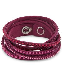 Swarovski - Crystal Stud Bracelet - Lyst