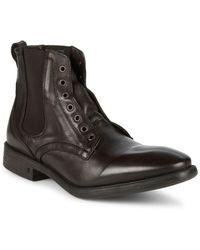 John Varvatos - Bleecker Laceless Boots - Lyst