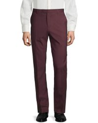 Kenneth Cole - Classic Slim-fit Trousers - Lyst