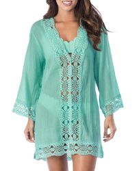 La Blanca - Island Fare Cotton Tunic - Lyst