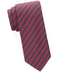 Brioni - Stripe Silk Tie - Lyst
