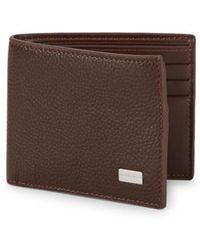 Bruno Magli | Leather Bi-fold Wallet | Lyst