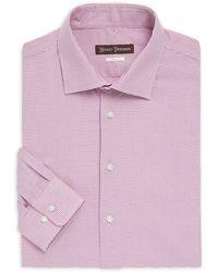 Hickey Freeman - Classic-fit Cotton Dress Shirt - Lyst