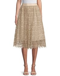 Alice + Olivia - Almira Embellished Skirt - Lyst