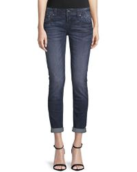 Miss Me - Classic Embroidered Jeans - Lyst