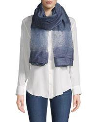 Saachi - Star Gazer Silk & Wool Scarf - Lyst