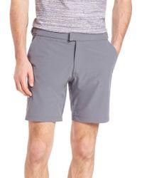 Saks Fifth Avenue - Modern Hybrid Stretch Shorts - Lyst